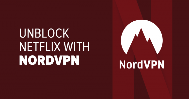Unblock Netflix with NordVPN